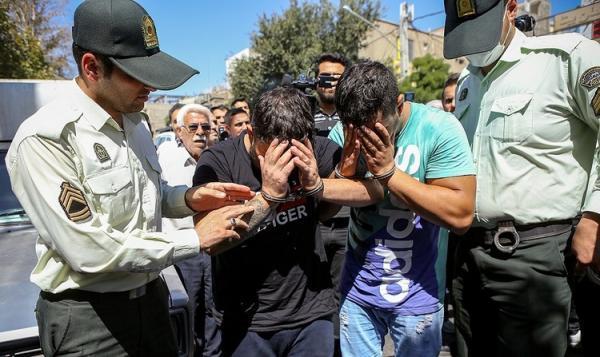 بازداشت چند گروه اوباش در تهران